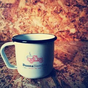Mug Peltre Café - Blanco